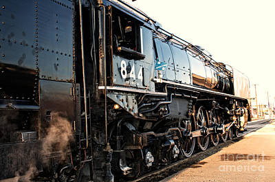 Union Pacific Engine #844 Art Print