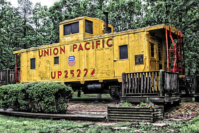 Union Pacific - No.25224 Art Print by Joe Finney