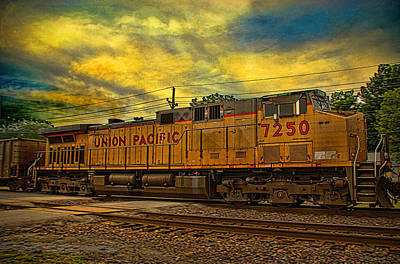 Photograph - Union Pacific Osawatomie Kansas by Tim McCullough