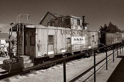 Photograph - Union Pacific Rail Car by Ricardo J Ruiz de Porras