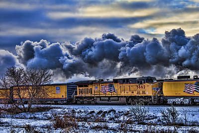 Union Pacific Train Art Print