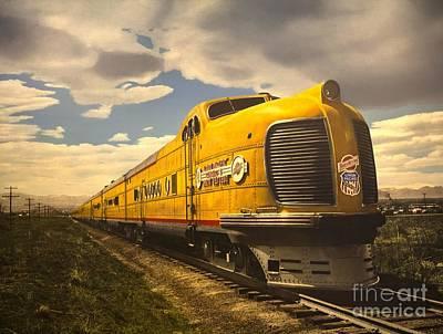 Photograph - Union Pacific Train by Steven Parker