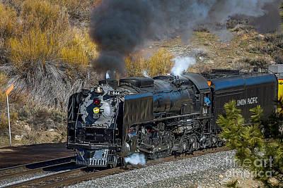 Union Pacific 844 Photograph - Union Pacifics 844 by Webb Canepa