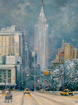 Painting - Union Sq  Nyc by Philip Corley