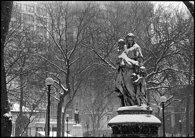 Photograph - Union Square Park by Julie VanDore