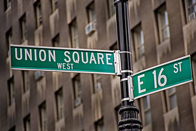 Union Square West I Art Print by Susan Candelario