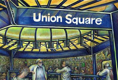 Union Square's Parlor Original by Gaye Elise Beda