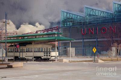 Union Station - Backside - Oil Painting Art Print by Liane Wright