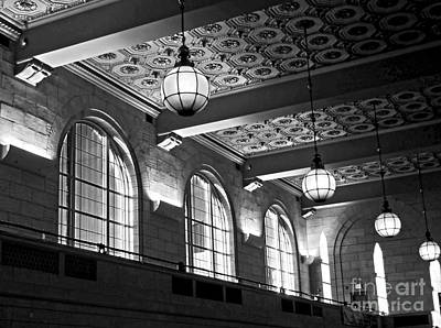 Union Station Balcony - New Haven Art Print