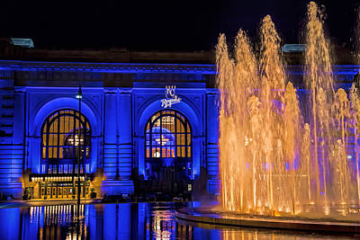 Photograph - Union Station Celebrates The Royals by Angie Rayfield