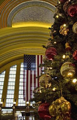 Photograph - Union Station Christmas by Daniel Sheldon