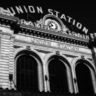 Photograph - Union Station Denver Colorado by Ron White