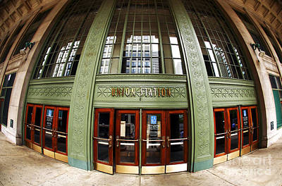Photograph - Union Station Exterior by John Rizzuto