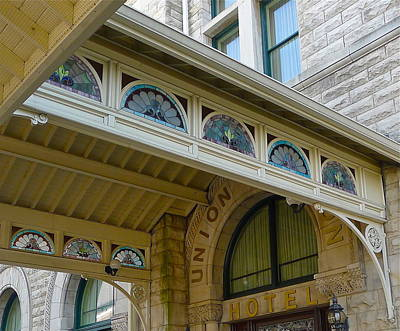 Photograph - Union Station Hotel by Denise Mazzocco