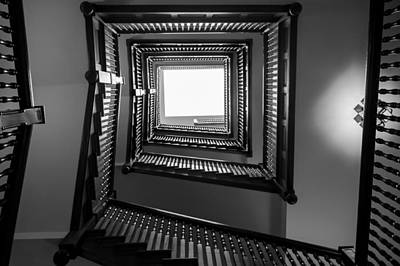 Union Station Hotel Stairway Art Print