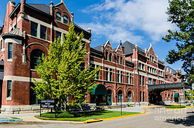 Photograph - Union Station In Montgomery Alabama by Danny Hooks