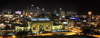 Union Station Photograph - Union Station Kansas City by Kevin  Whitworth
