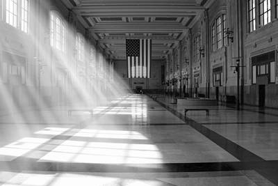 Railroad Stations Photograph - Union Station - Kansas City by Mike McGlothlen