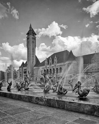 Photograph - Union Station - St Louis by Harold Rau