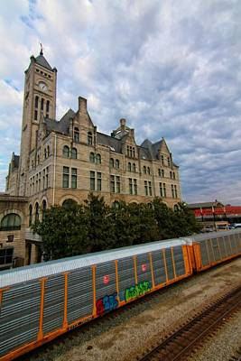 Nashville Tennessee Photograph - Union Station Train by Dan Sproul