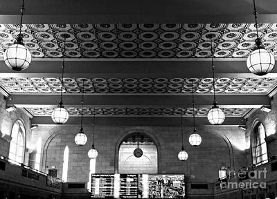 Union Station Waiting - New Haven Art Print