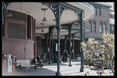 Union Street Station Art Print by Patricia Babbitt
