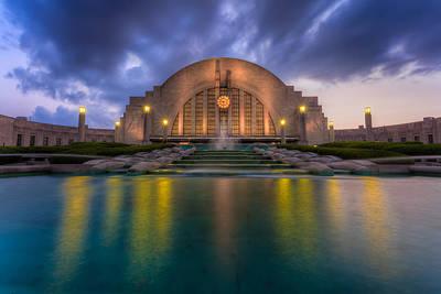 Photograph - Union Terminal Cincinnati Museum Center by Keith Allen