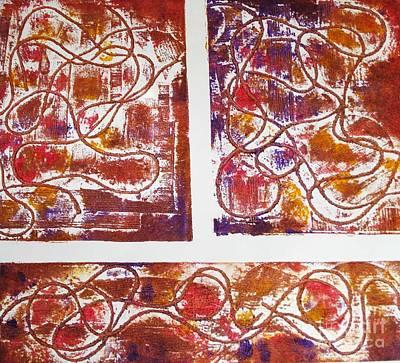 Unique Abstract II Print by Yael VanGruber