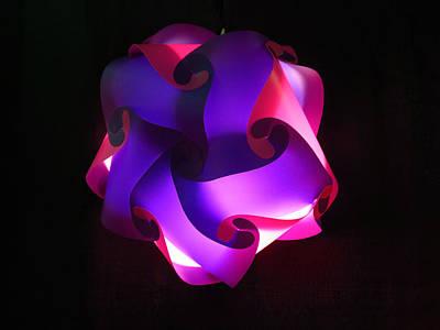 Photograph - Unique Lamp by Ron Roberts