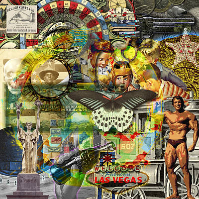 Digital Art - Unique Silos by Gary Grayson