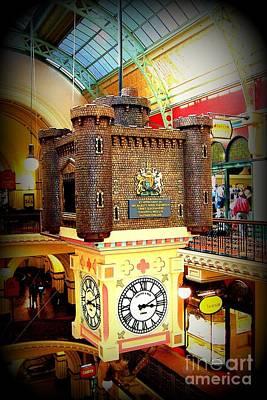Photograph - Unique Sydney Mall Clock by John Potts
