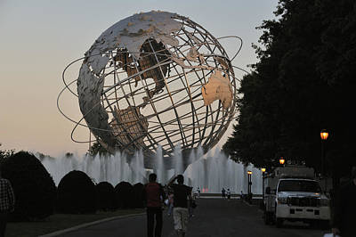 Photograph - Unisphere I by Marianne Campolongo
