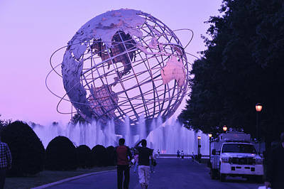 Photograph - Unisphere 4 by Marianne Campolongo