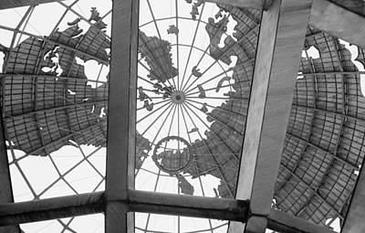 Photograph - Unisphere Queens by Dave Beckerman