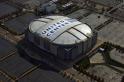 Tom Woolworth Photograph - United Center Chicago Sports 09 by Thomas Woolworth
