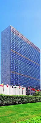 United Nations Photograph - United Nations Headquarters Building by Panoramic Images