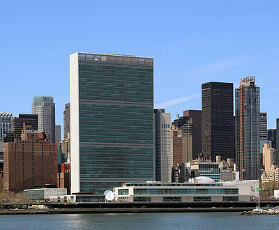 Photograph - United Nations  by Jim Poulos