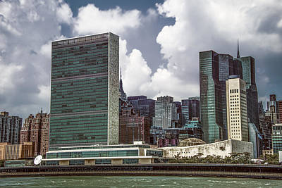 Photograph - United Nations by Theodore Jones