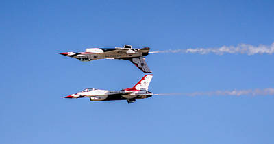 Photograph - United States Air Force Thunderbirds - 2 by Ely Arsha