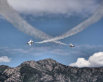 Photograph - United States Air Force Thunderbirds - 3 by Ely Arsha