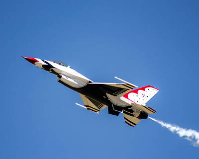 Photograph - United States Air Force Thunderbirds - 4 by Ely Arsha