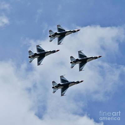 United States Air Force Thunderbirds Art Print