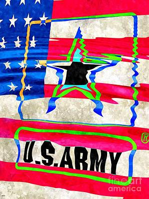 United States Army Art Print
