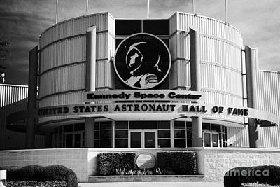 united states astronaut hall of fame Kennedy Space Center Florida USA Art Print by Joe Fox