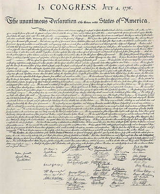4th July 1776 Photograph - United States Bill Of Rights by Charles Beeler