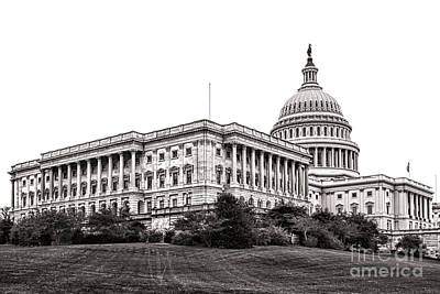 United States Capitol Senate Wing Art Print