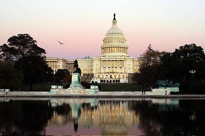 United States Capitol Washington Dc Art Print