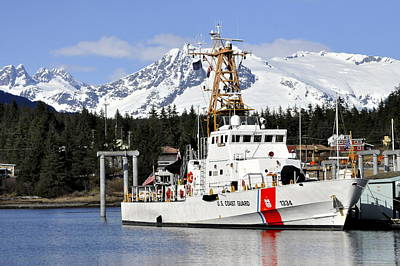 United States Coast Guard Cutter Liberty Art Print