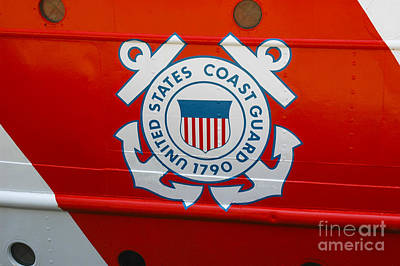 Photograph - United States Coast Guard by Dale Powell