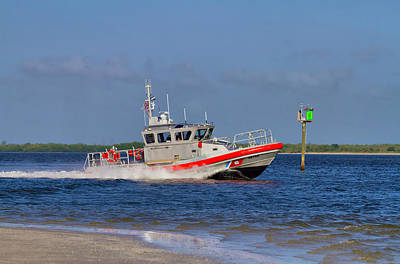 United States Coast Guard Art Print by Kim Hojnacki